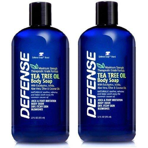 defense tea tree oil body soap