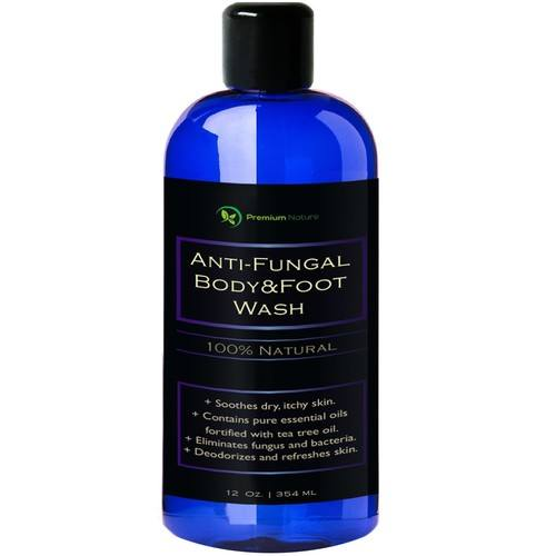 premium nature antifungal body wash